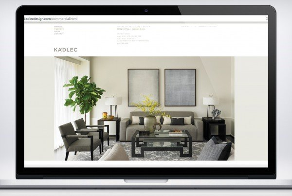kadlec design website development